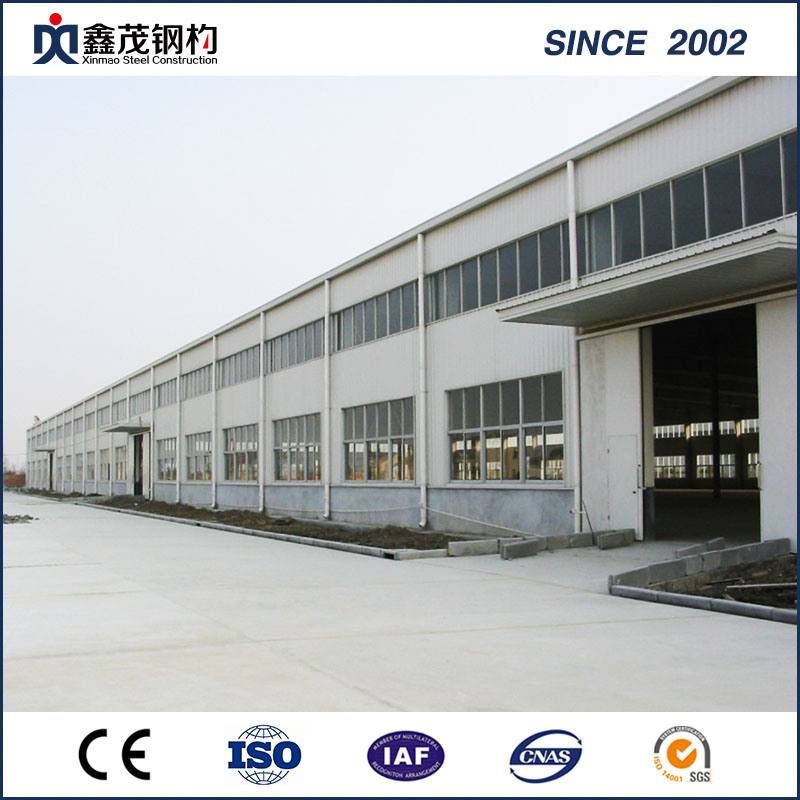 Trending Products Lightweight Steel Structure Building - High Strength Earthquake-Proof Prefabricated Steel Structure Workshop – Xinmao ZT Steel
