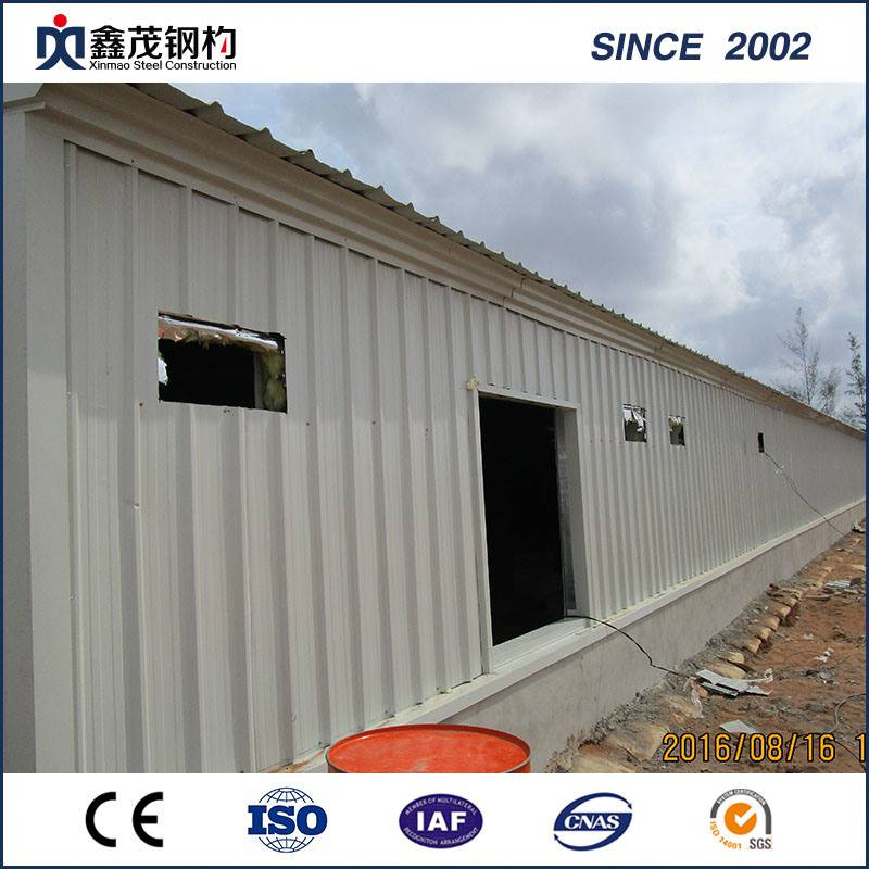 High Strength Steel Frame Steel Building Built in Africa