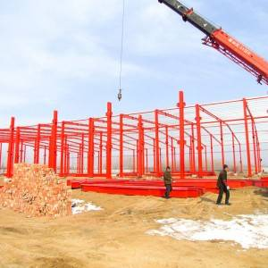 Fast and Easy Construction Frame Steel Structure Prefab Warehouse from China