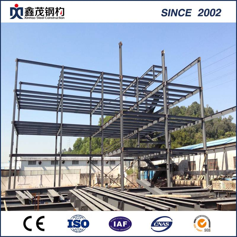 Industrial Pre-Fabricated Large Span Steel Structure Factory/Warehouse/Plant