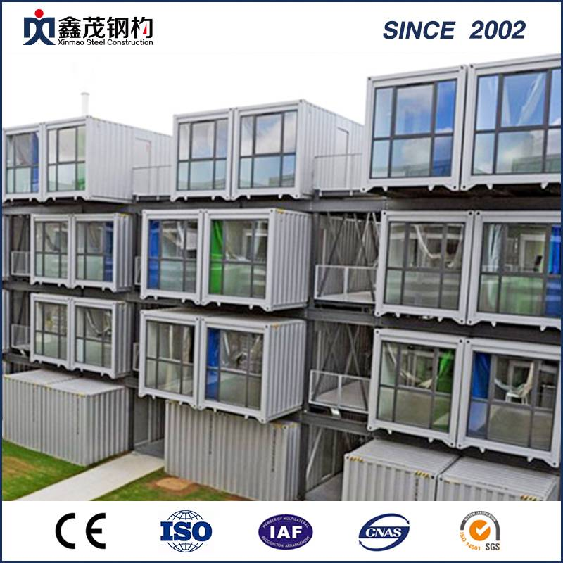 China Gold Supplier for Container Home Ventilation - Integrated Folding Storage Container House for Warehouse – Xinmao ZT Steel