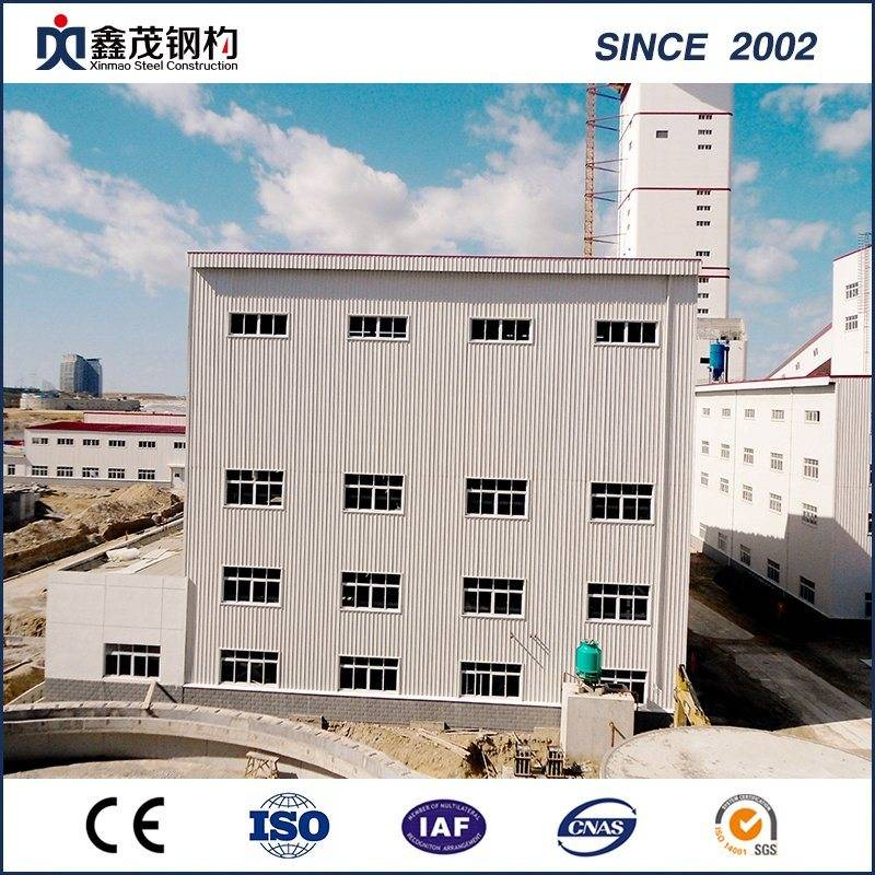 Low Cost Multi etasjers Steel strcture Factory Building