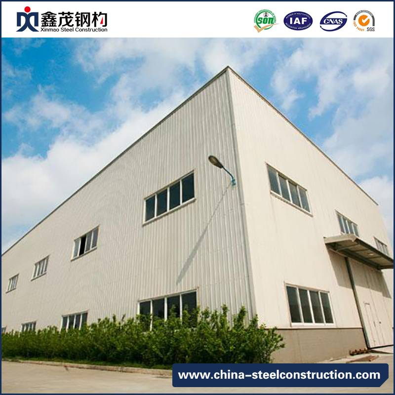 Low Cost Prefabricated Steel Structure Building for Workshop