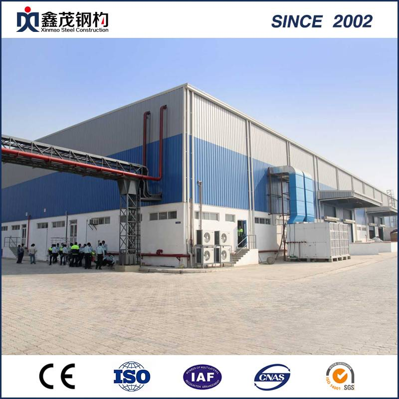 Low Cost Prefabricated Warehouse Construction for Logistics Center Featured Image