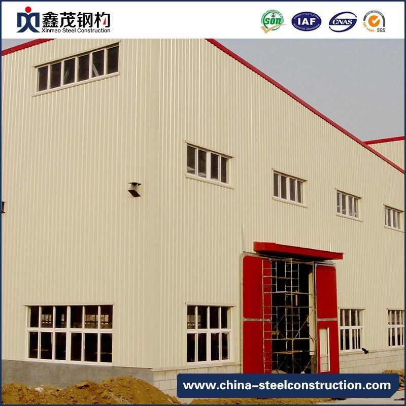 Low Cost Prefabricated Warehouse Construction for Logistics Center