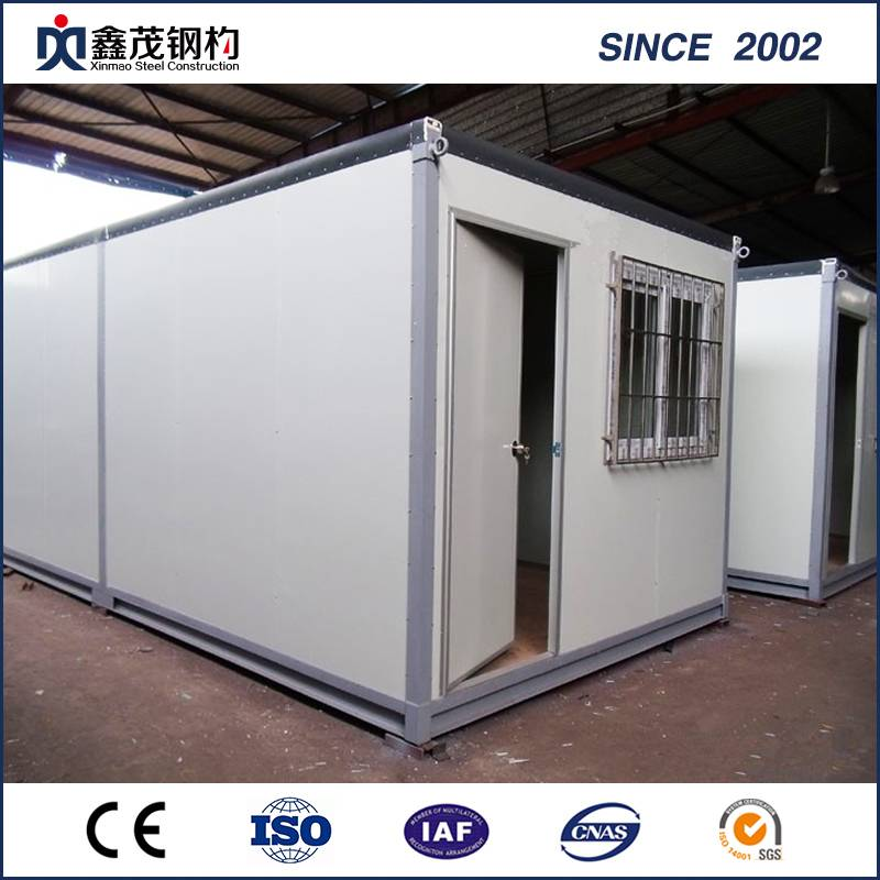 Mobile Modular Sandwich Panel Container House para sa Office