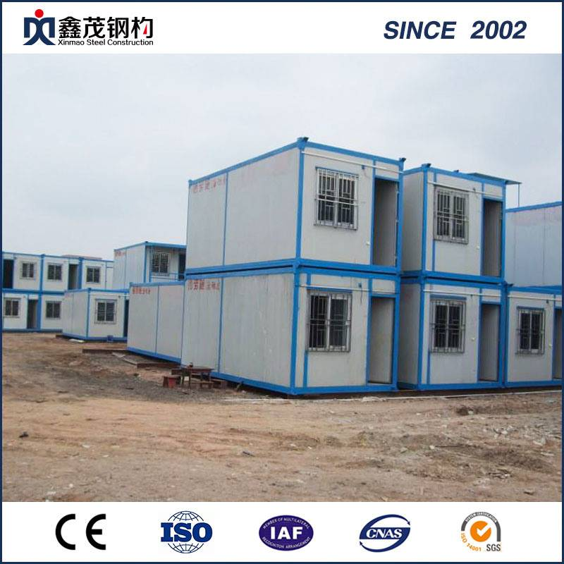Online Exporter Steel Construction - Modern Prefab Flatpack Container House for Worker Dormitory – Xinmao ZT Steel