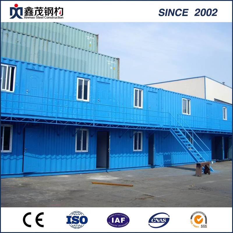 PriceList for Container Home Magazine - Modular Container House Dormitory Camp for Temporary Use – Xinmao ZT Steel