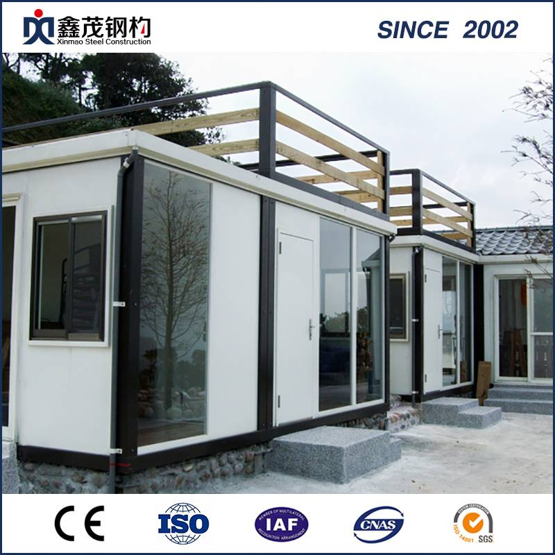 ODM Factory Prefab Light Gauge Steel Structure House - Modular House Flatpack Container Home House with Bathroom and Kitchen (container house) – Xinmao ZT Steel