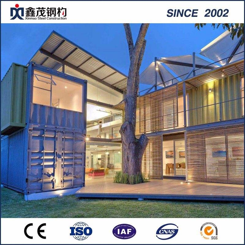 Hot Sale for Container Homes For Sale - Noble Modified 20 FT Standard Prefabricated Shipping Container House with Bathroom – Xinmao ZT Steel