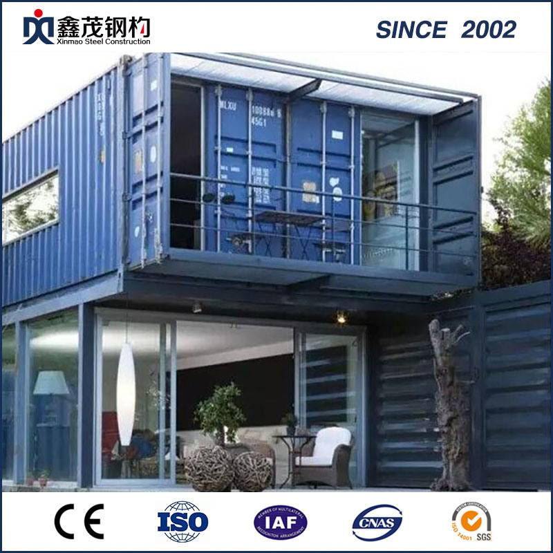High reputation Advantages Of Steel Structure Buildings - Noble Modified 20 FT Standard Prefabricated Shipping Container House with Bathroom – Xinmao ZT Steel