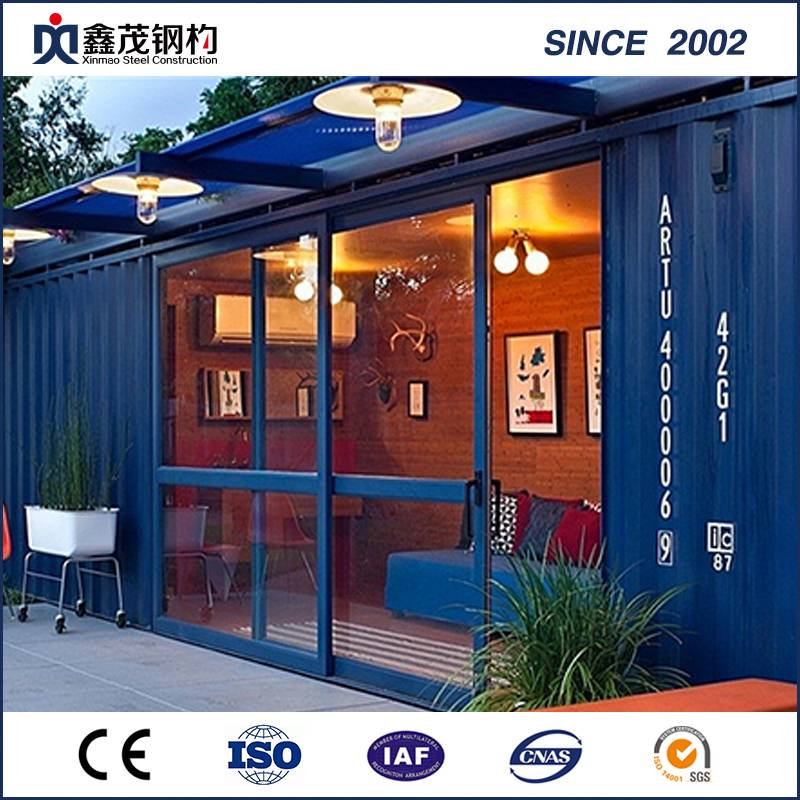 Noble iliyorekebishwa 20 FT Standard Prefabricated Shipping Container House kwa Bathroom