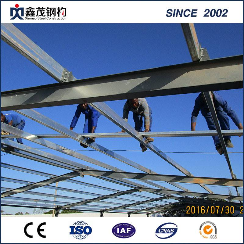 Pre-Engineering Steel Frame Steel Structure Warehouse