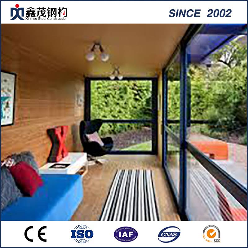 Professional China Steel Structure Warehouse Factory - Prefab Container House with Bedroom Kitchen Toilet for Living House – Xinmao ZT Steel