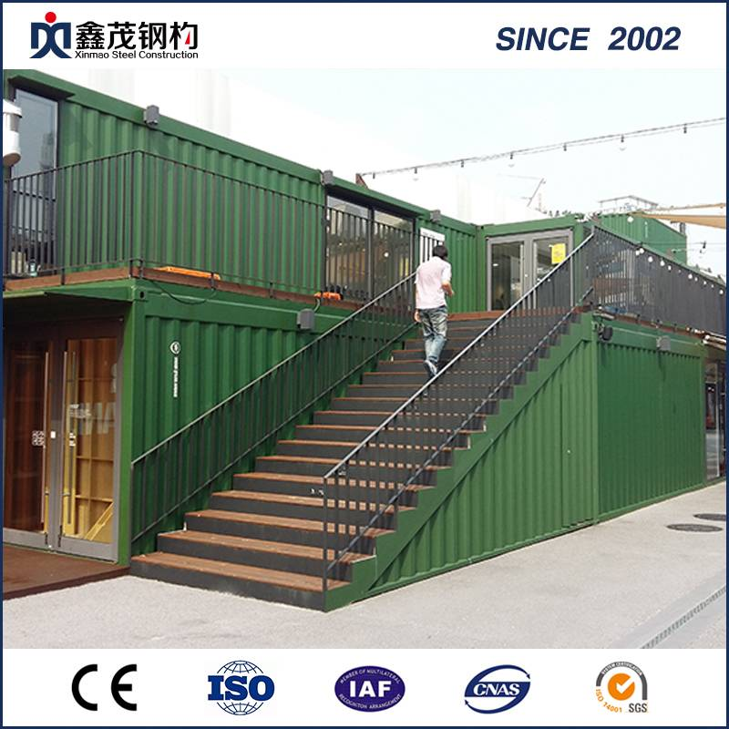 Prefab Container House with International Certification for Shop