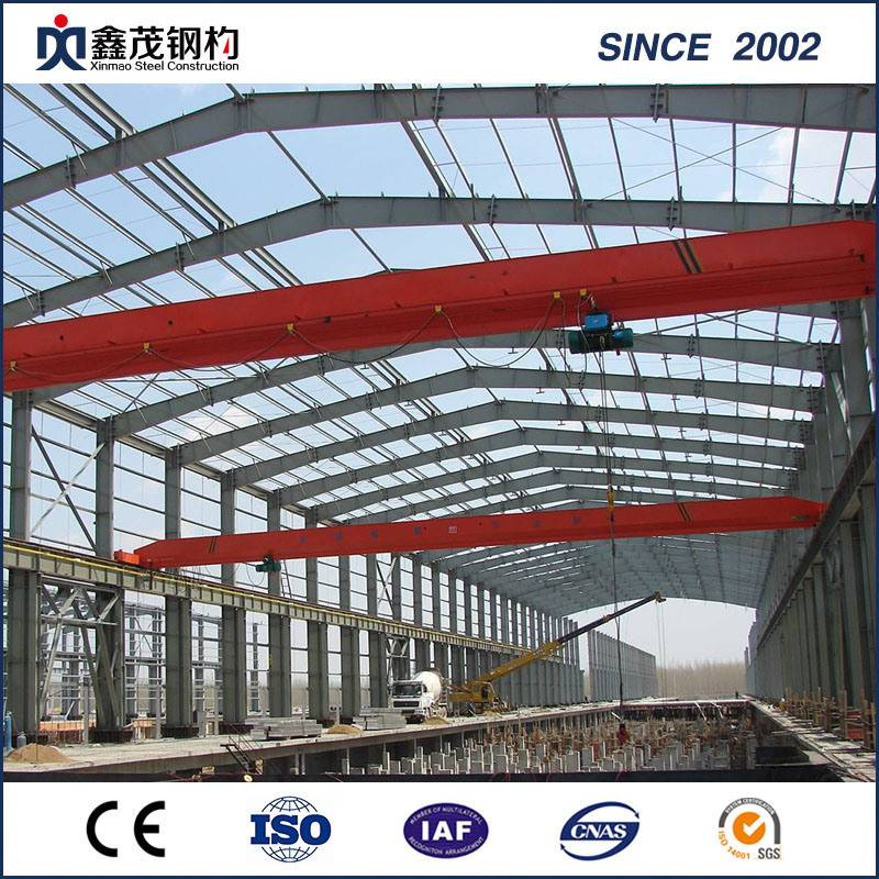 Prefab Hot daldırma Steel Frame Steel Structure Workshop