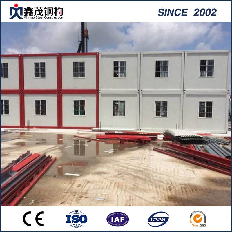 Wholesale OEM Prefab Steel Building Warehouse - Prefab Mobile Container House for Worker Temporary House – Xinmao ZT Steel