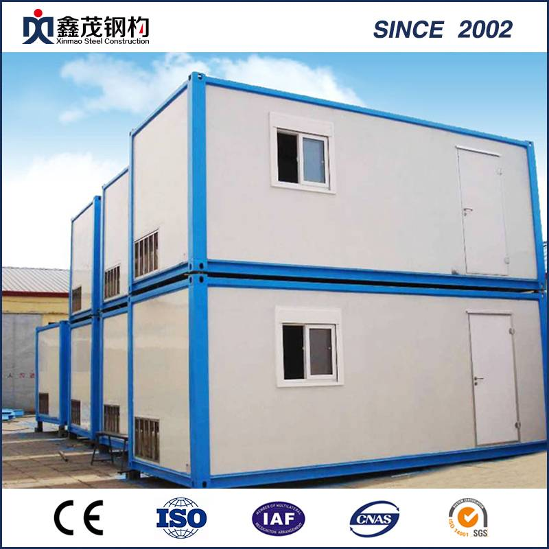 Prefab Modular Container House Cabin House alang sa Appartment Domitory