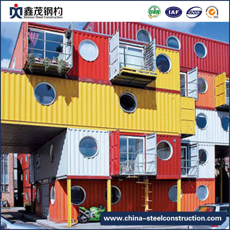 2018 China New Design Steel Structural Residence - Prefab Modular Shipping Container House Container Hotel – Xinmao ZT Steel