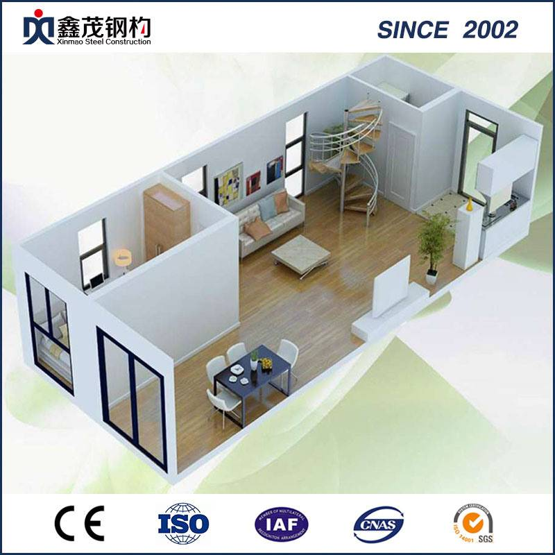 Cheap price Shipping Container House - Prefab Prefab Flat Pack Container House for Industrial Building – Xinmao ZT Steel