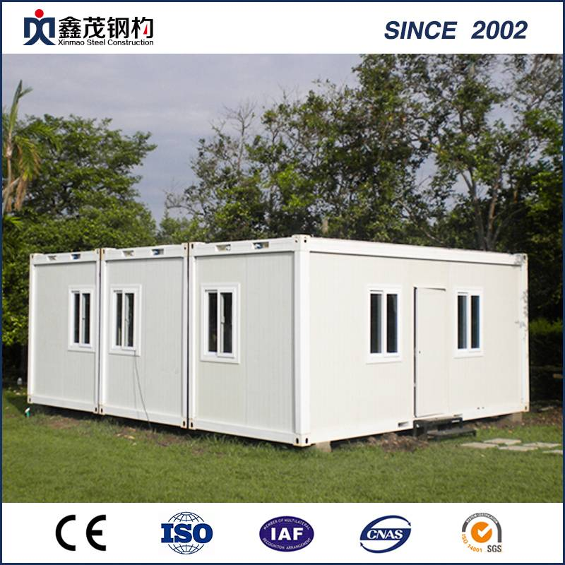 Special Design for Steel Structure & Metal Building Magazine - Prefabricated Container Cabin Container House for Dormitory – Xinmao ZT Steel