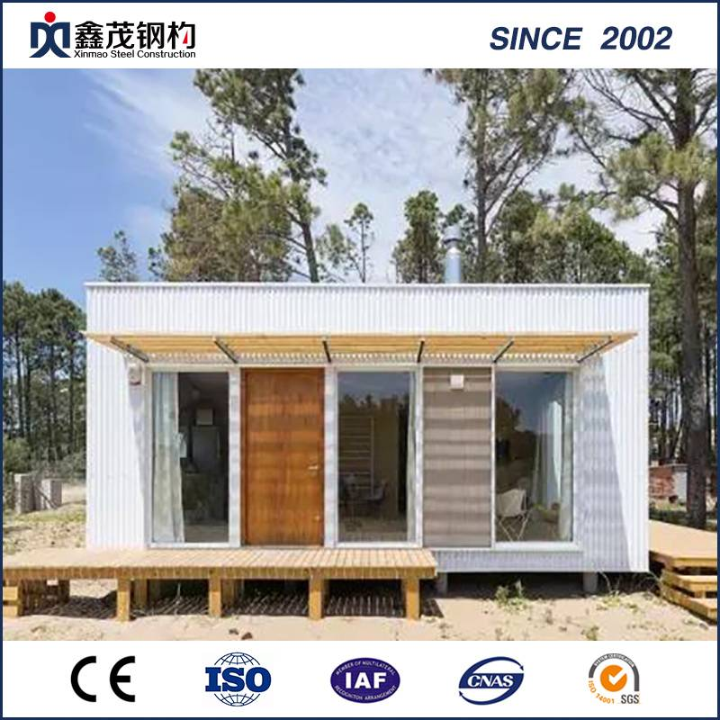 Top Quality Building Structural Steel Image - Prefabricated Economic Flat Pack Container House for Portable Home – Xinmao ZT Steel