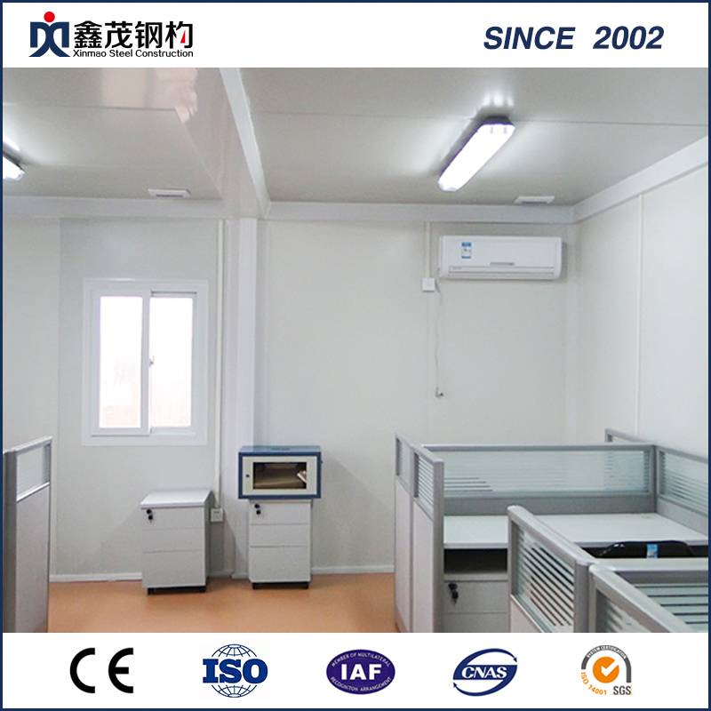 Prefabricated Flat Pack Sandwich Panel Container House for Office
