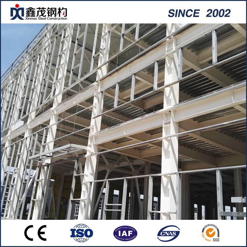 Factory Supply Hydraulic Prefabricated Steel Structure House - Prefabricated Light Industrial Steel Factory Construction – Xinmao ZT Steel