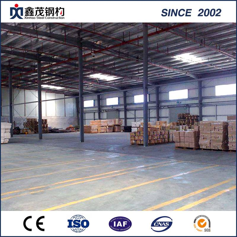 Supply OEM K Modular House - Prefabricated Light Steel Structure Warehouse Metal Building From China – Xinmao ZT Steel
