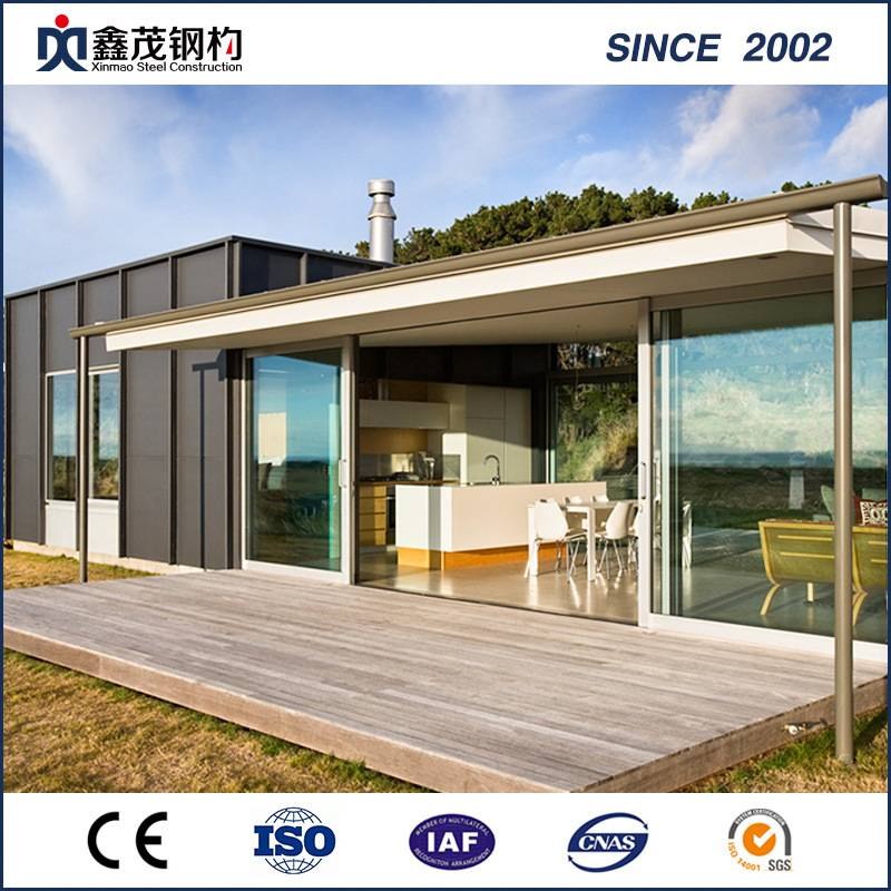 Prefabricated Modular Container House kuti Family Living Home
