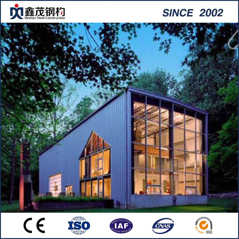 Prefabricated Shipping Container House kuti Single Department