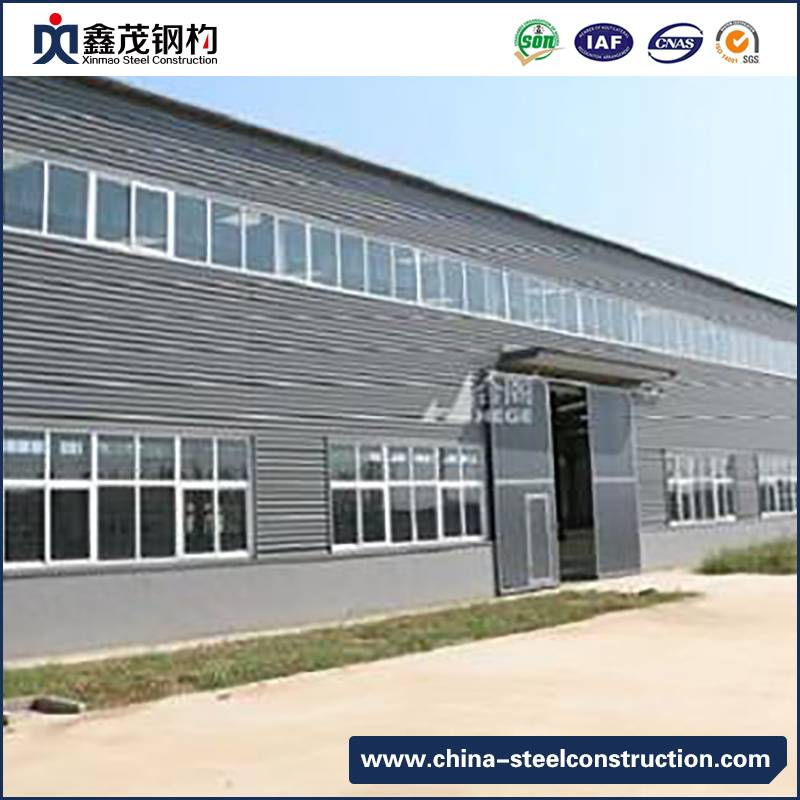 New Fashion Design for Pre Made Container House - Prefabricated Space Frame Metal Shed Steel Structure Factory Building – Xinmao ZT Steel Featured Image