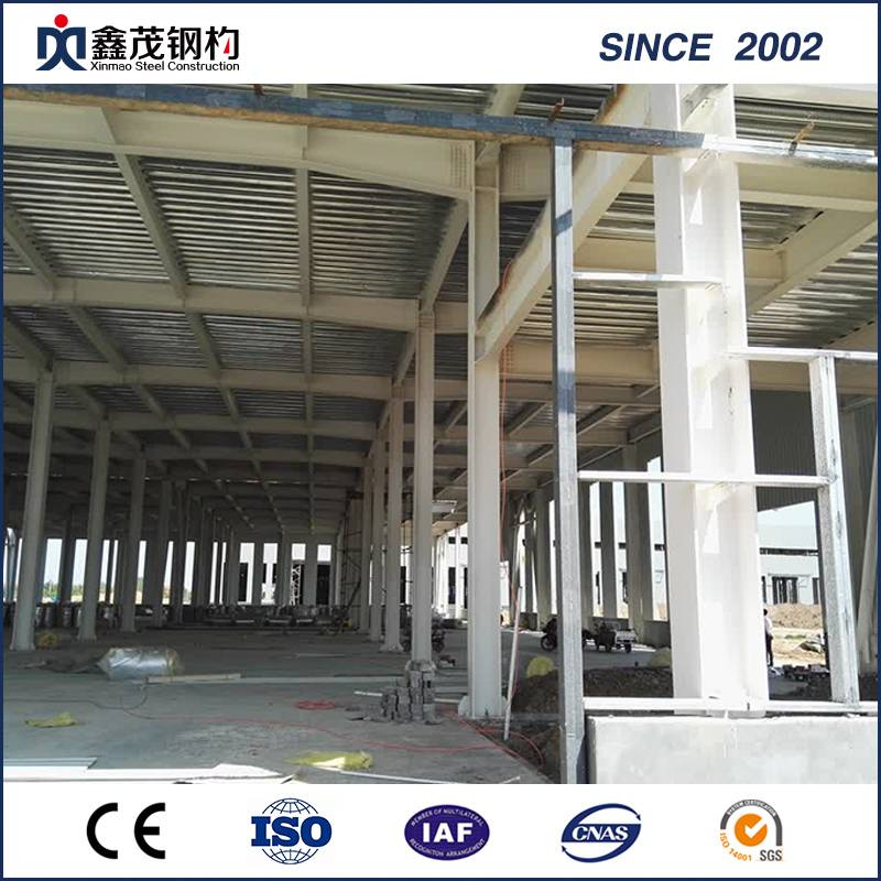 New Fashion Design for Pre Made Container House - Prefabricated Space Frame Metal Shed Steel Structure Factory Building – Xinmao ZT Steel