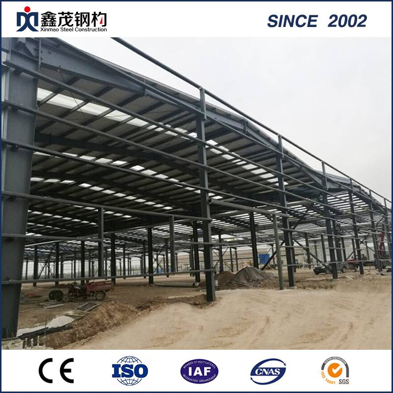 Prefabricated Steel Building/Low Cost Prefabricated Light Steel Structure Factory