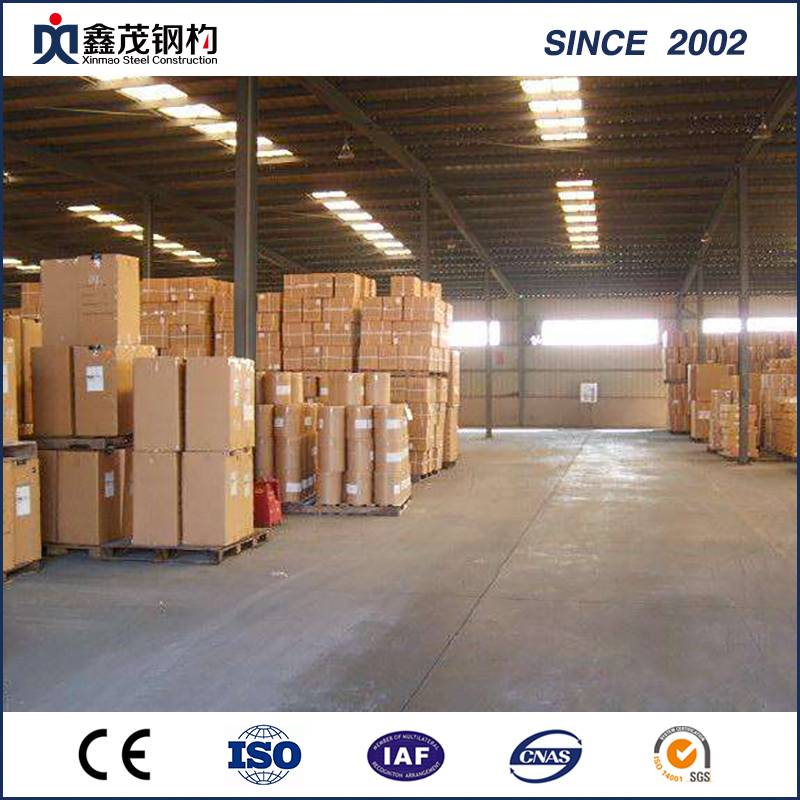 Prefabricated Steel Structure Warehouse Building Construction From Chinese Supplier