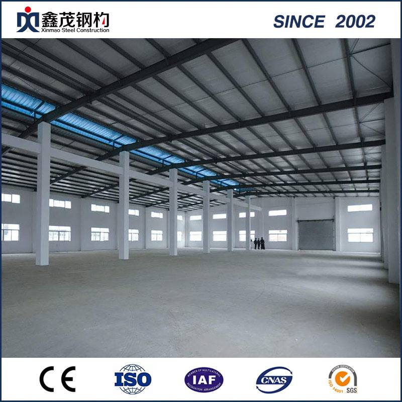 Prefabricated Steel Structure Warehouse with Large Span