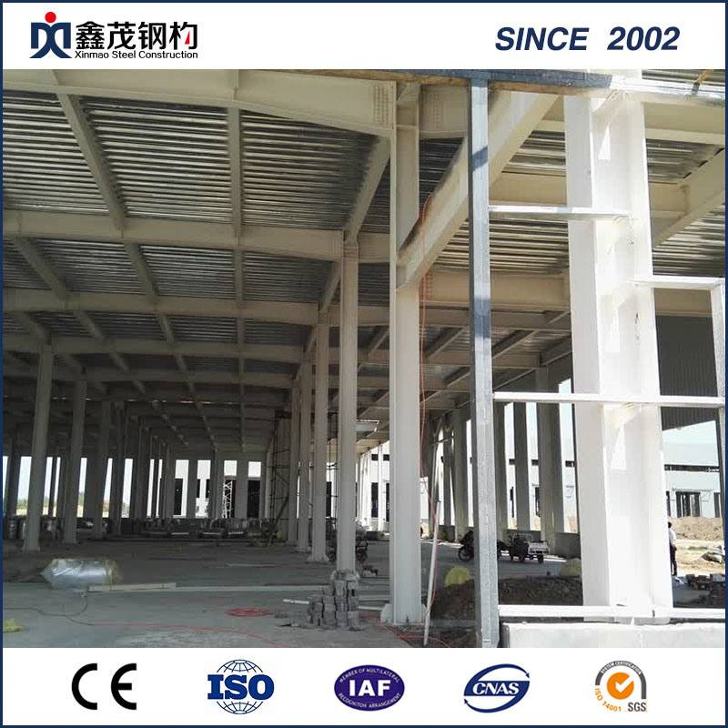 Prefabricated Steel Structure Workshop for Steel Building Plant