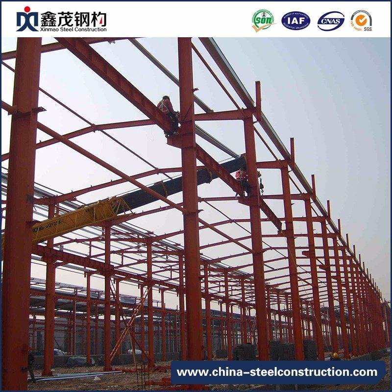 Professional H Section Steel Struture Building for Steel Workshop, Warehouse and Storage