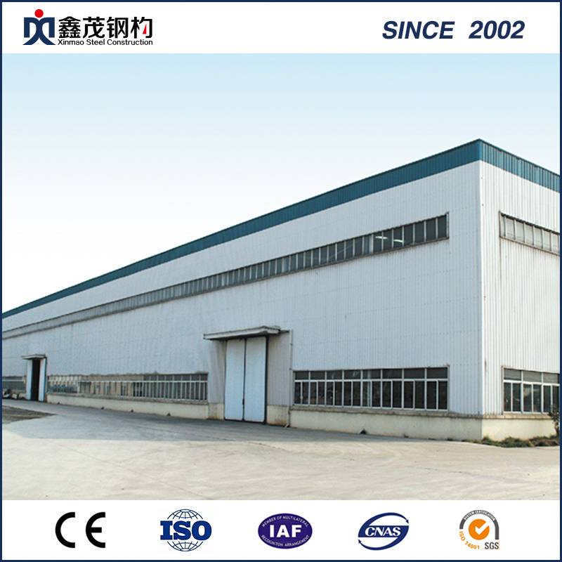 Q235 H-Section Steel Frame Steel Structure Building for Warehouse
