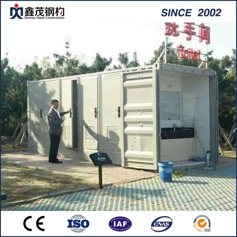 OEM Customized Steel Structure Apartment Building - Single Department Cabins Modified Shipping Container House with Fittment – Xinmao ZT Steel