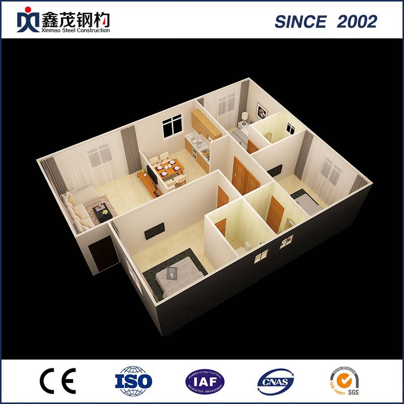 Fixed Competitive Price Container Home Builders Qld - Standard Cheap Portable Container Mobile House for Container Home – Xinmao ZT Steel
