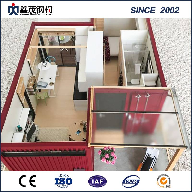 China Supplier Design Pig Farm House - Standard Modular Flat Pack Living Container House Home – Xinmao ZT Steel