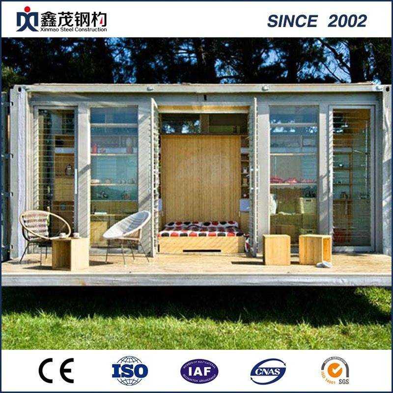 Standard Prefabricated Modified Shipping Container House with Bathroom