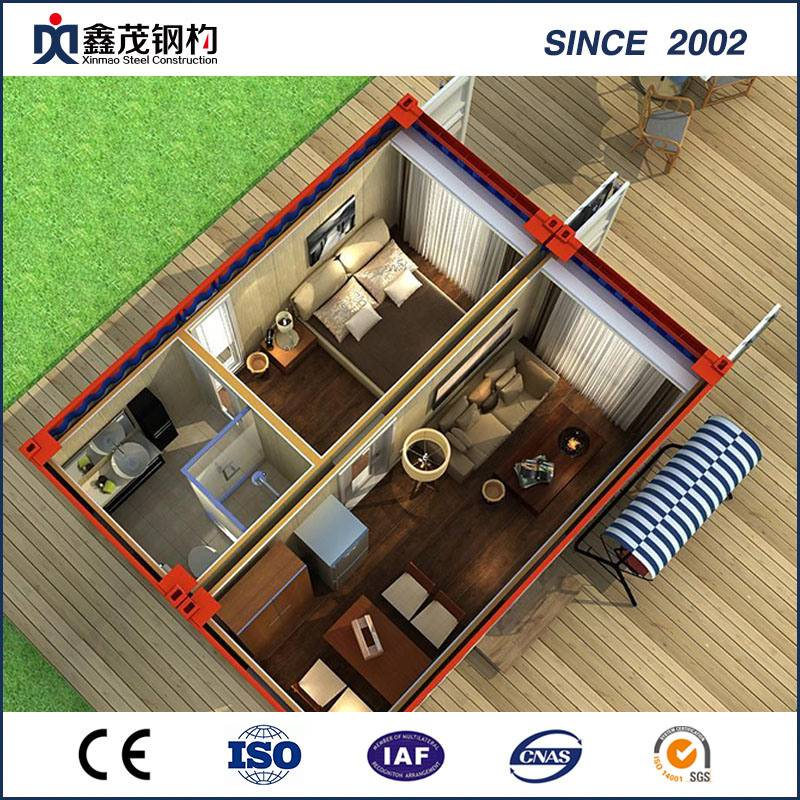 Standard prefabricated Shipping Container House alang sa Home