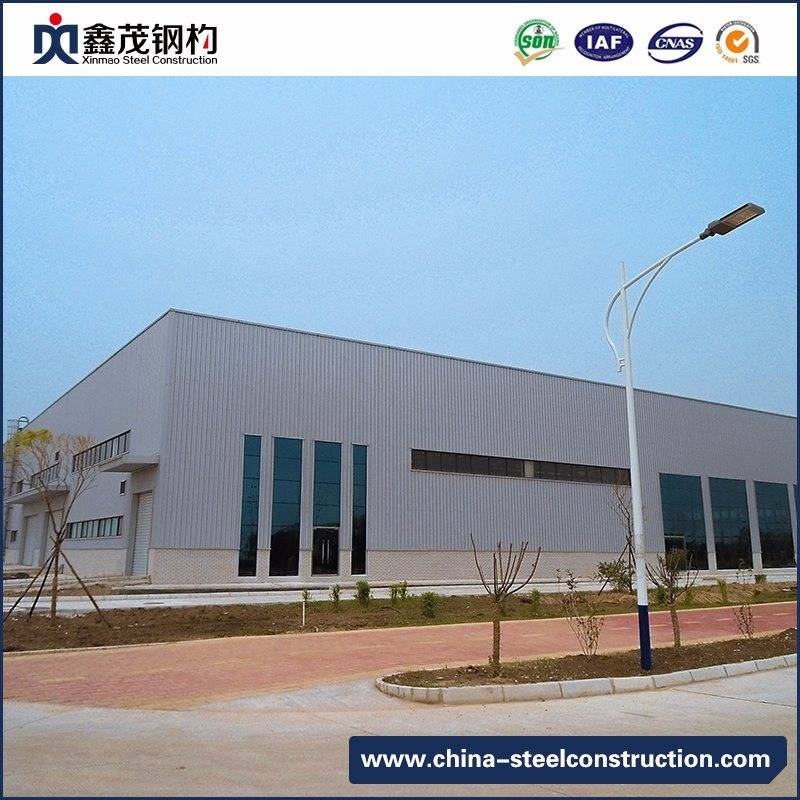 Steel Construction for Modular Steel Structure Workshop