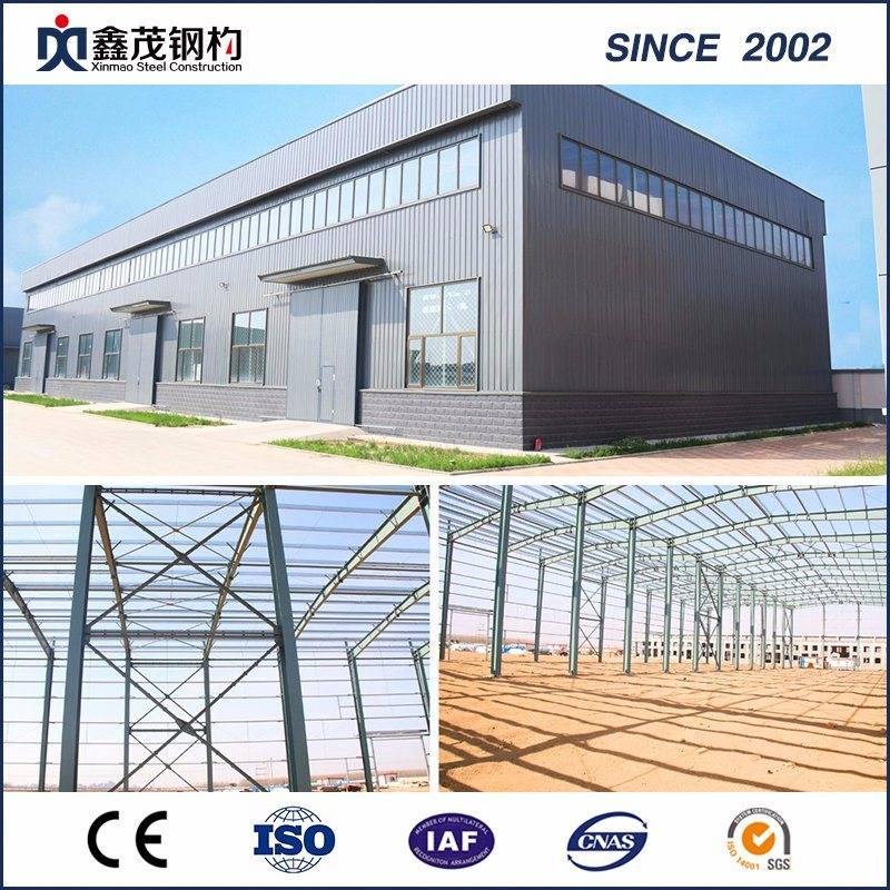 Steel Construction modern Factory Prefab Warehouse Steel Structure Building