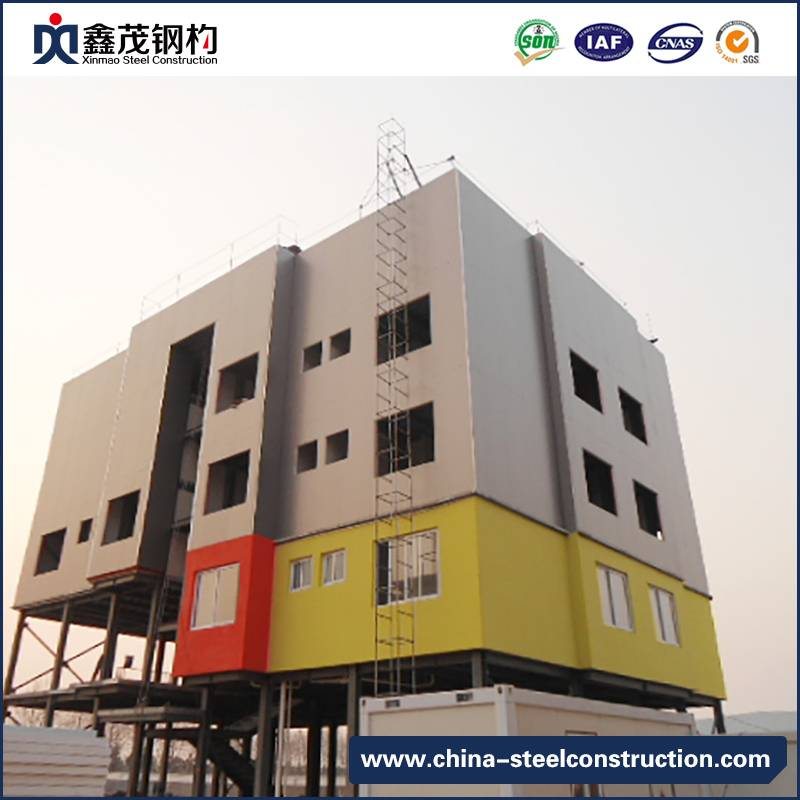 Chinese Professional Heavy Steel Structure House - Steel Frame Multi Storey Prefab Apartments – Xinmao ZT Steel
