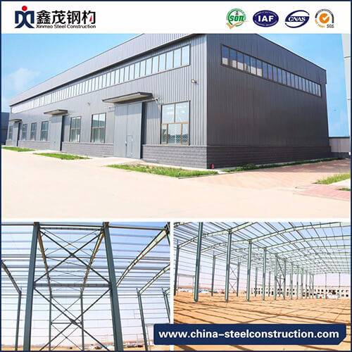 Factory Promotional Container Home Yeronga - Steel Frame Structure Workshop Buildings – Xinmao ZT Steel