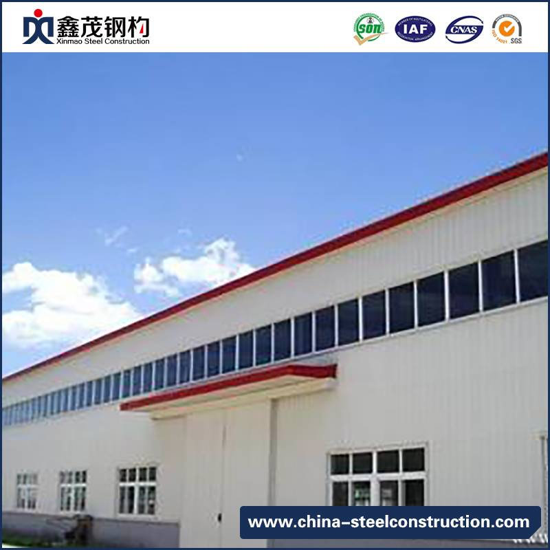Excellent quality Container House Trailer - Steel Structure Construction Logistic Warehouse Building – Xinmao ZT Steel