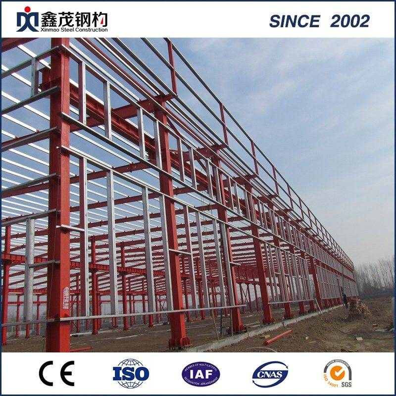 Steel Structure Prefabricated House for Steel Warehouse